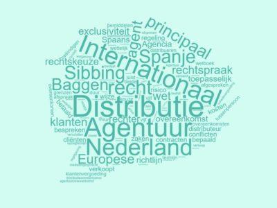 Agentuur en distributie in Nederland en Spanje